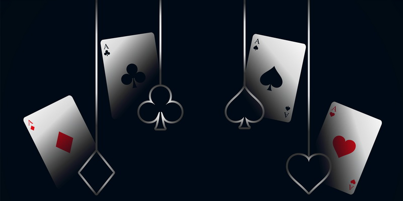 4 aces - Best playing cards for poker