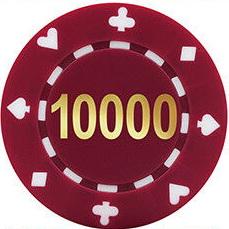 poker chips value