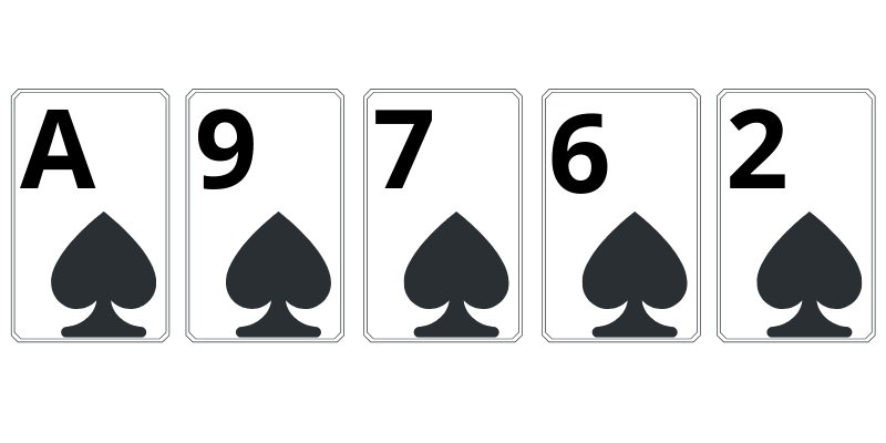 Flush - poker combinations