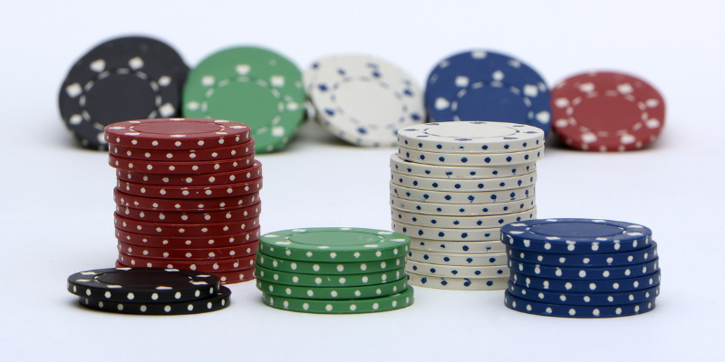5 color chips - rules for poker texas holdem