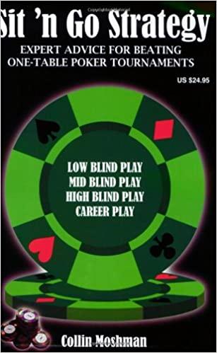 Sit 'n Go strategy - books on poker strategy