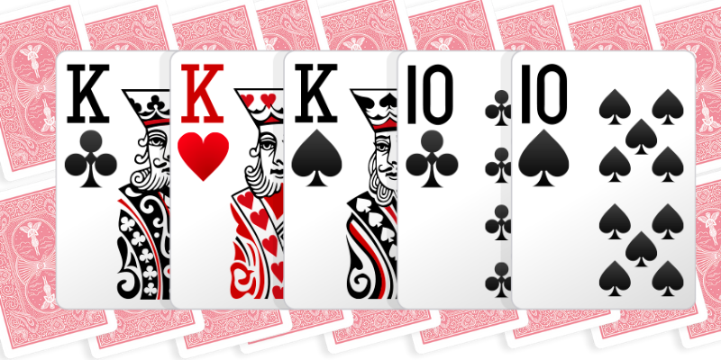 Three of a kind - how to play 5 card draw