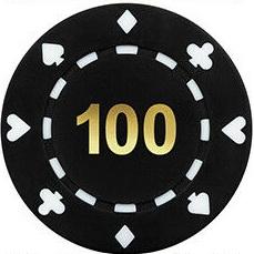 values of poker chips