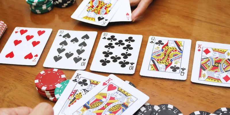 card combinations are the same for all poker variations