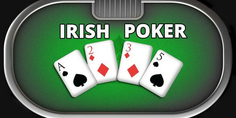 How to play Irish poker - 4 cards