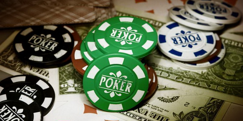 More poker chips